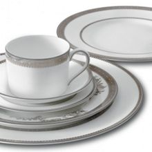 Wedgwood Lace platinum dinnerware