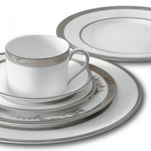 Wedgwood Vera Wang lace platinum dinnerware