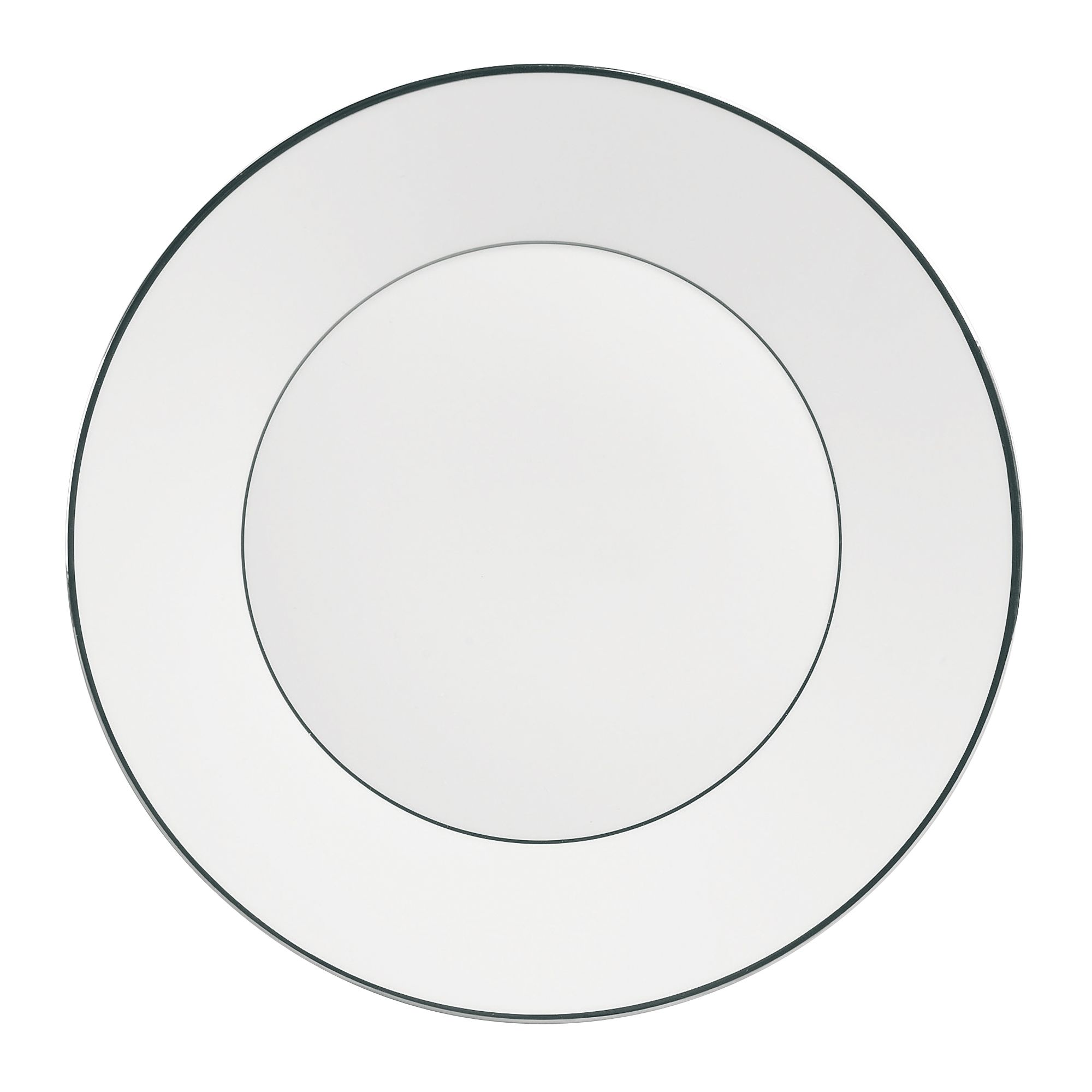Platinum dinnerware