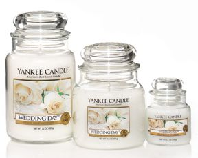 Yankee Candle Wedding day room fragrance