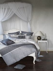 Boutique Burano bed linen range in grey