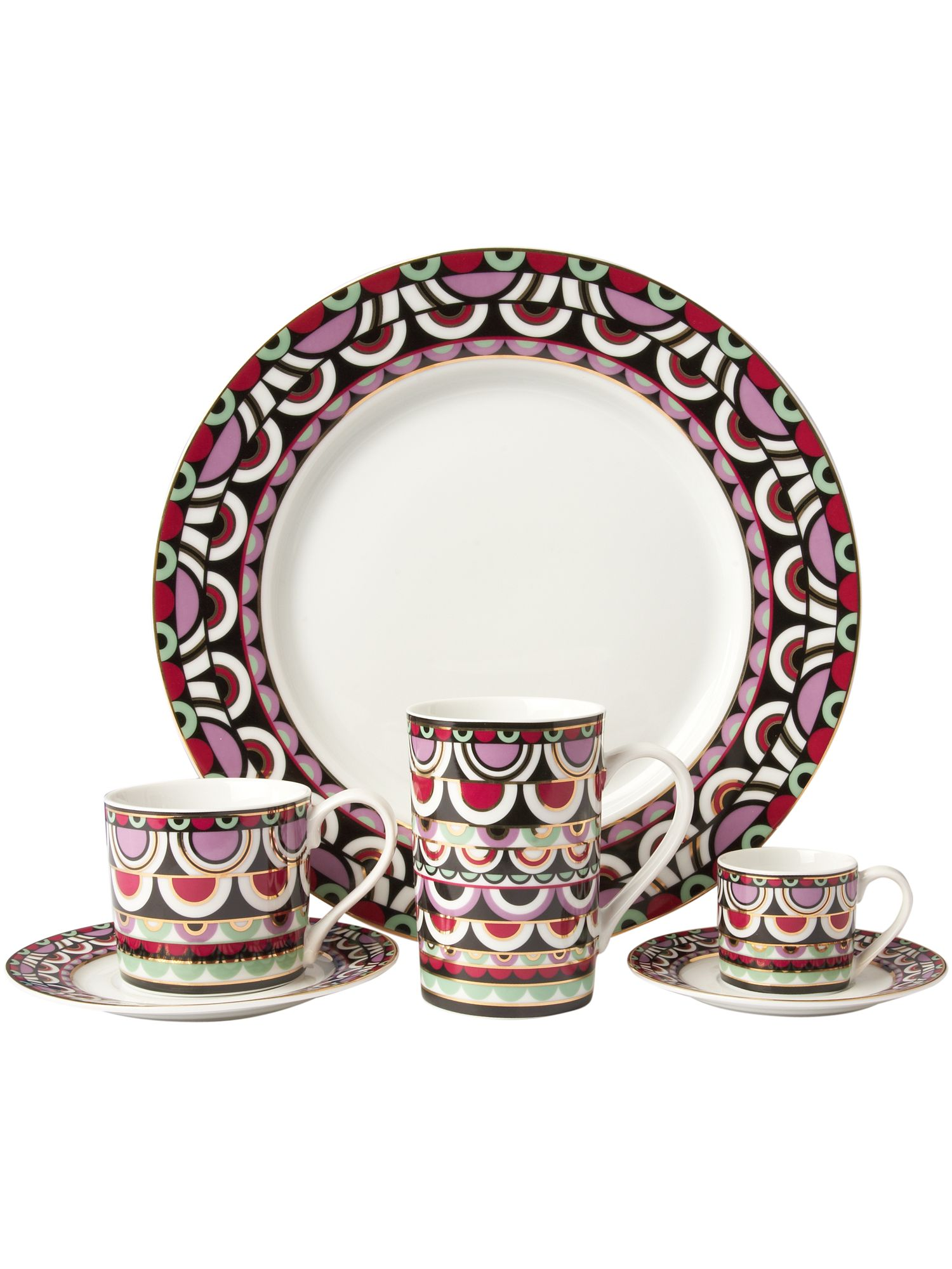 Persia Jewels dinnerware range