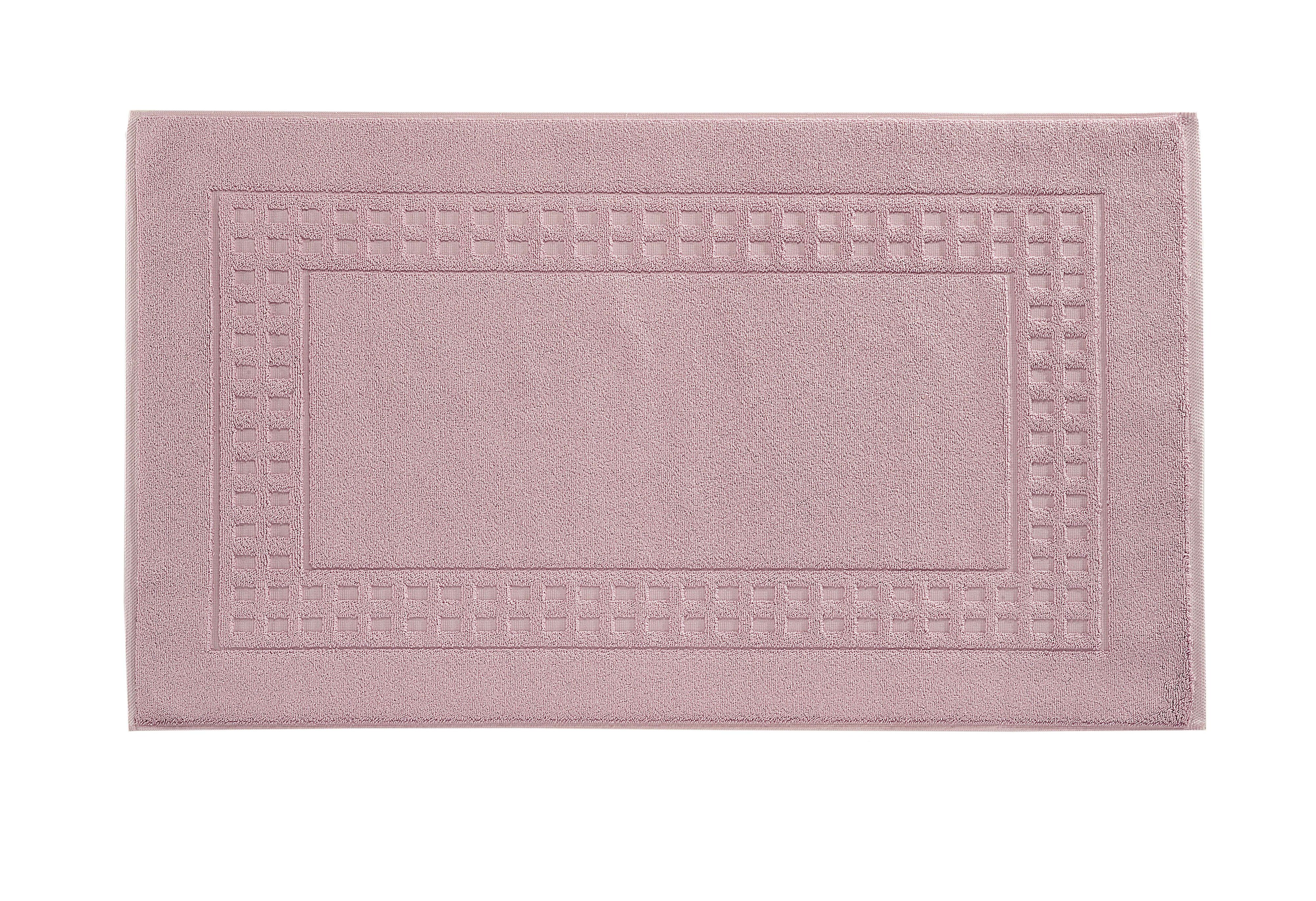 Country bath mat range in lavender