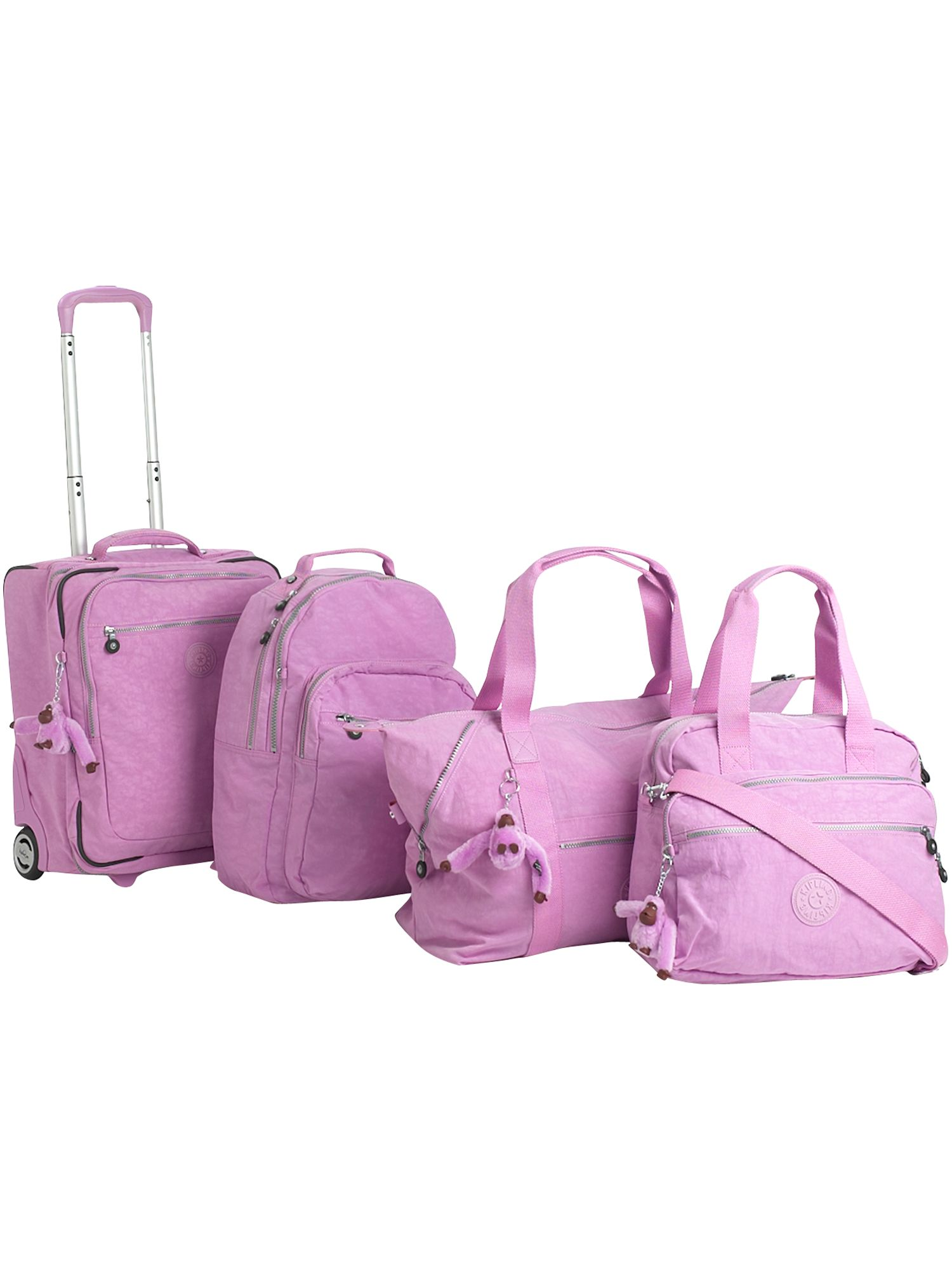 Basic Art M travel tote ultra pink