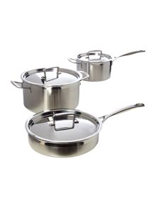 Tri ply cookware range