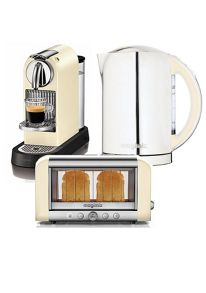 Magimix kitchen electricals range in cream