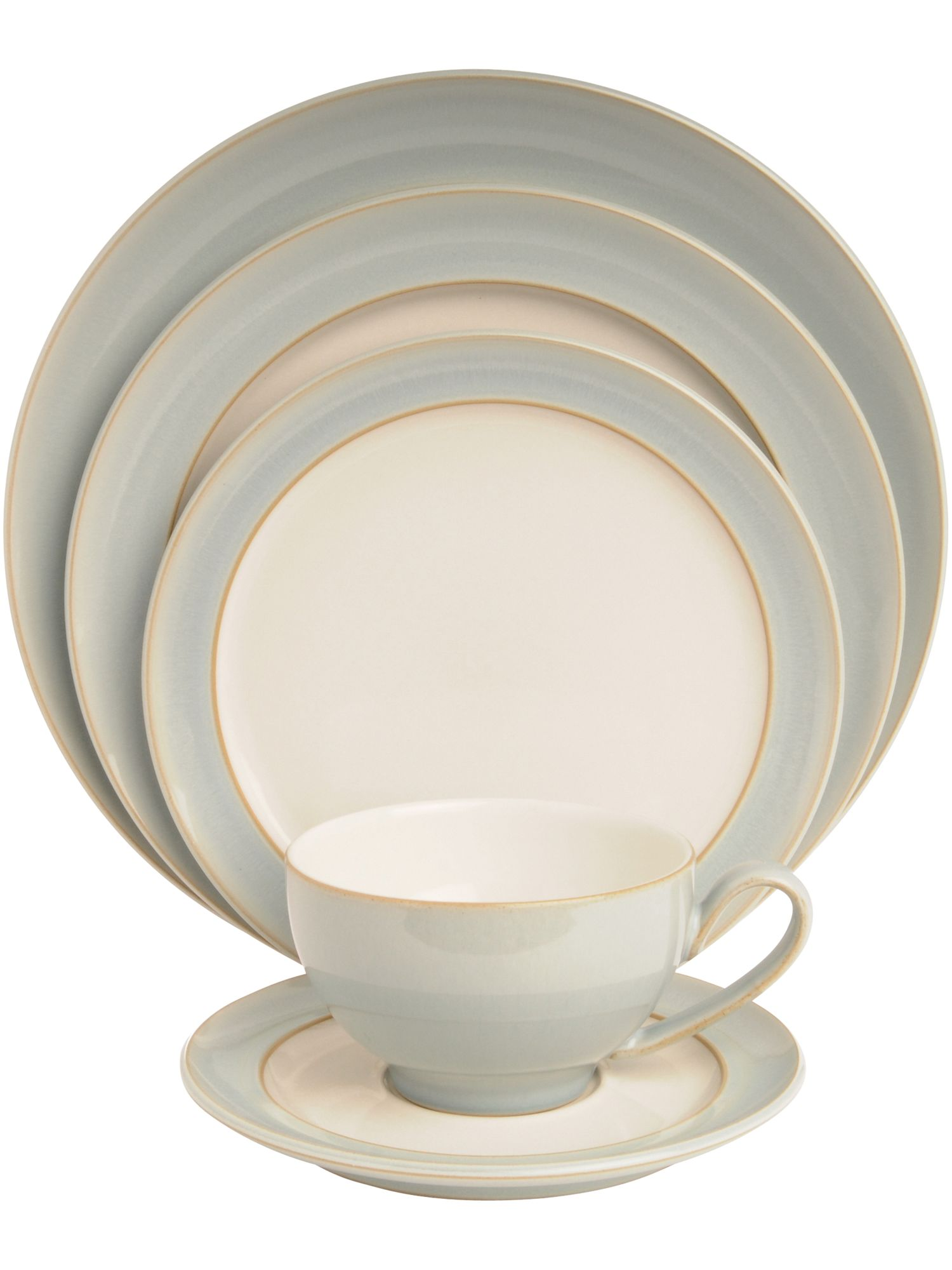 Natural Blue dinnerware range