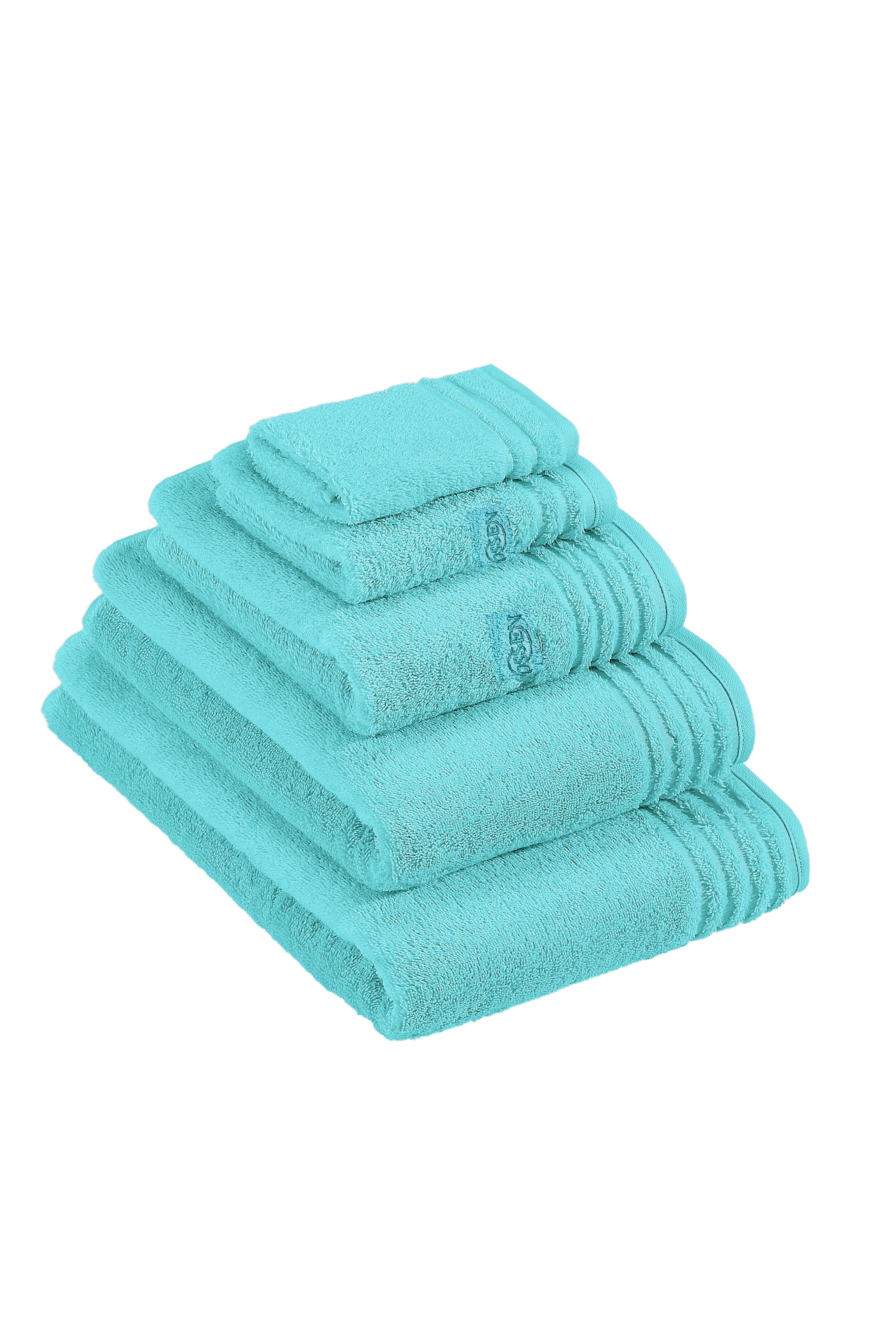 Vienna towel range in azure