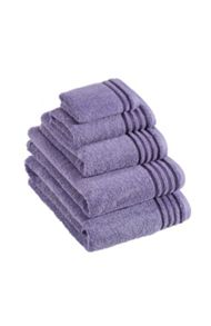 De Luxe towel range in crocus