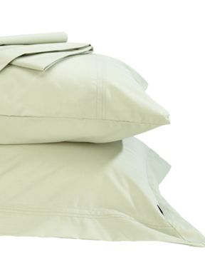 Christy Supreme bed linen range in willow