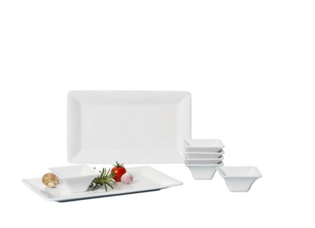 Villeroy & Boch Pi Carre deep square plate