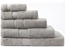 Sheridan Egyptian Luxury towel range in silver