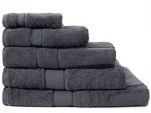 Sheridan Egyptian Luxury towel range in graphite