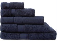 Sheridan Egyptian Luxury towel range in navy