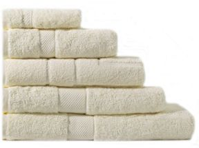 Sheridan Egyptian Luxury towel range parchement