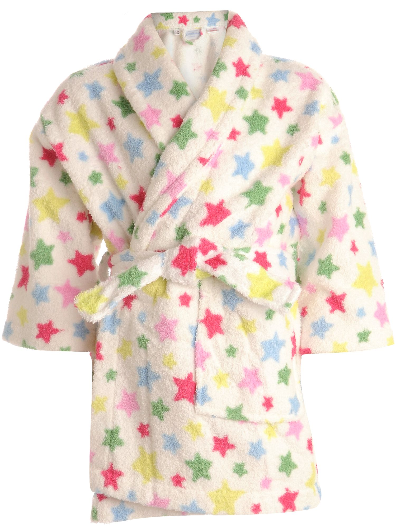 Shoot star kids bath robe