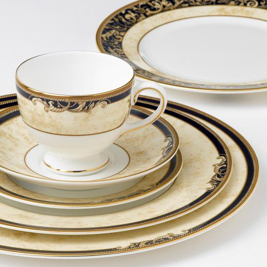 Cornucopia Bond Coffee Saucer