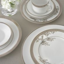 Wedgwood Vera Wang lace gold dinnerware