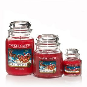 Yankee Candle Christmas eve house warmer range