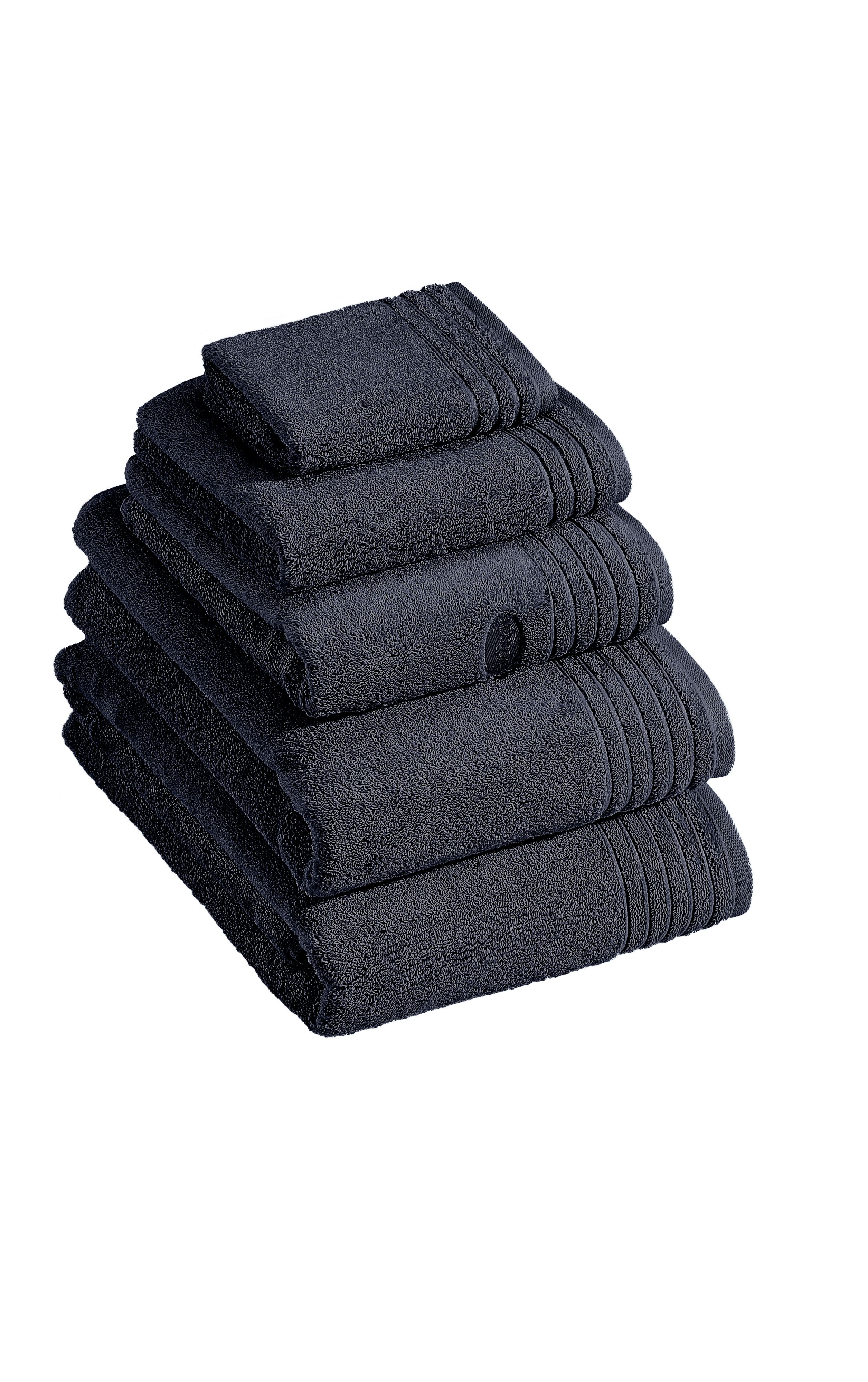 Dreams towel range in anthracite