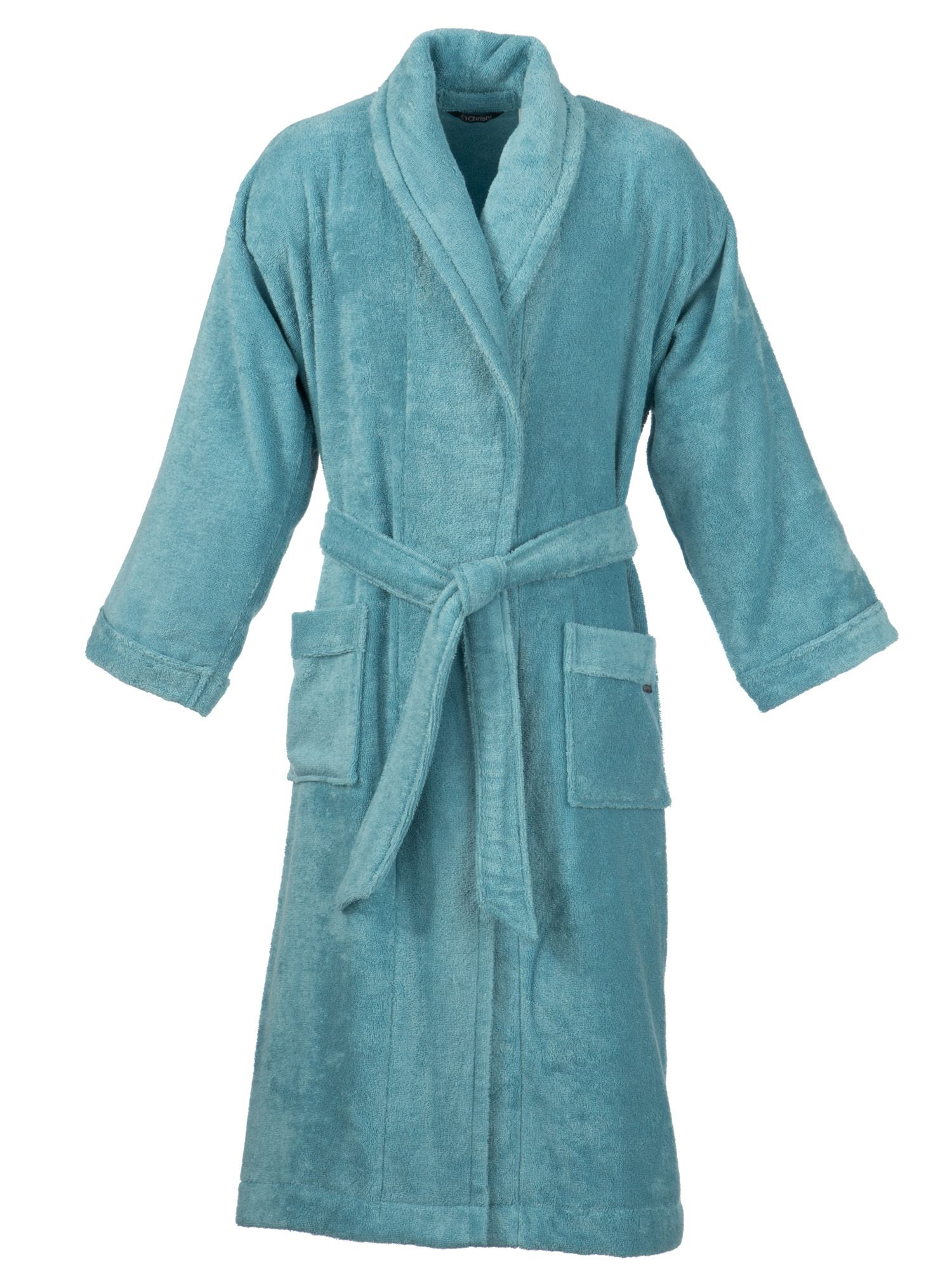 Supreme bath robe in lagoon