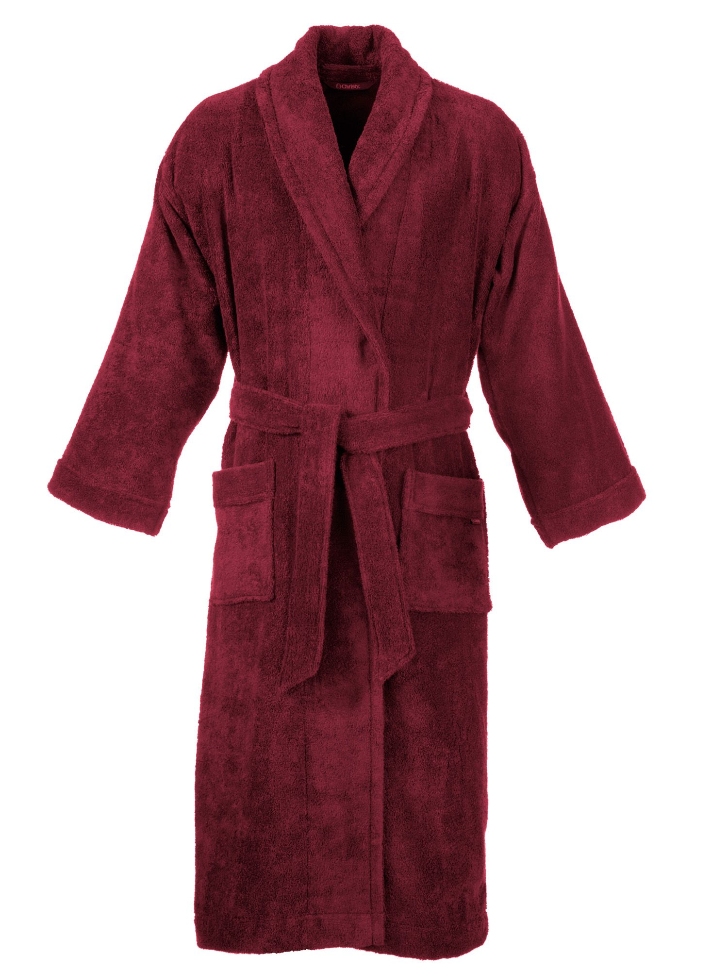 Supreme bath robe in raspberry