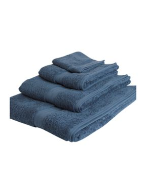 Linea Luxe Egyptian towel range in denim