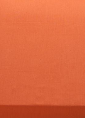 Linea 100% cotton percale bed linen in orange