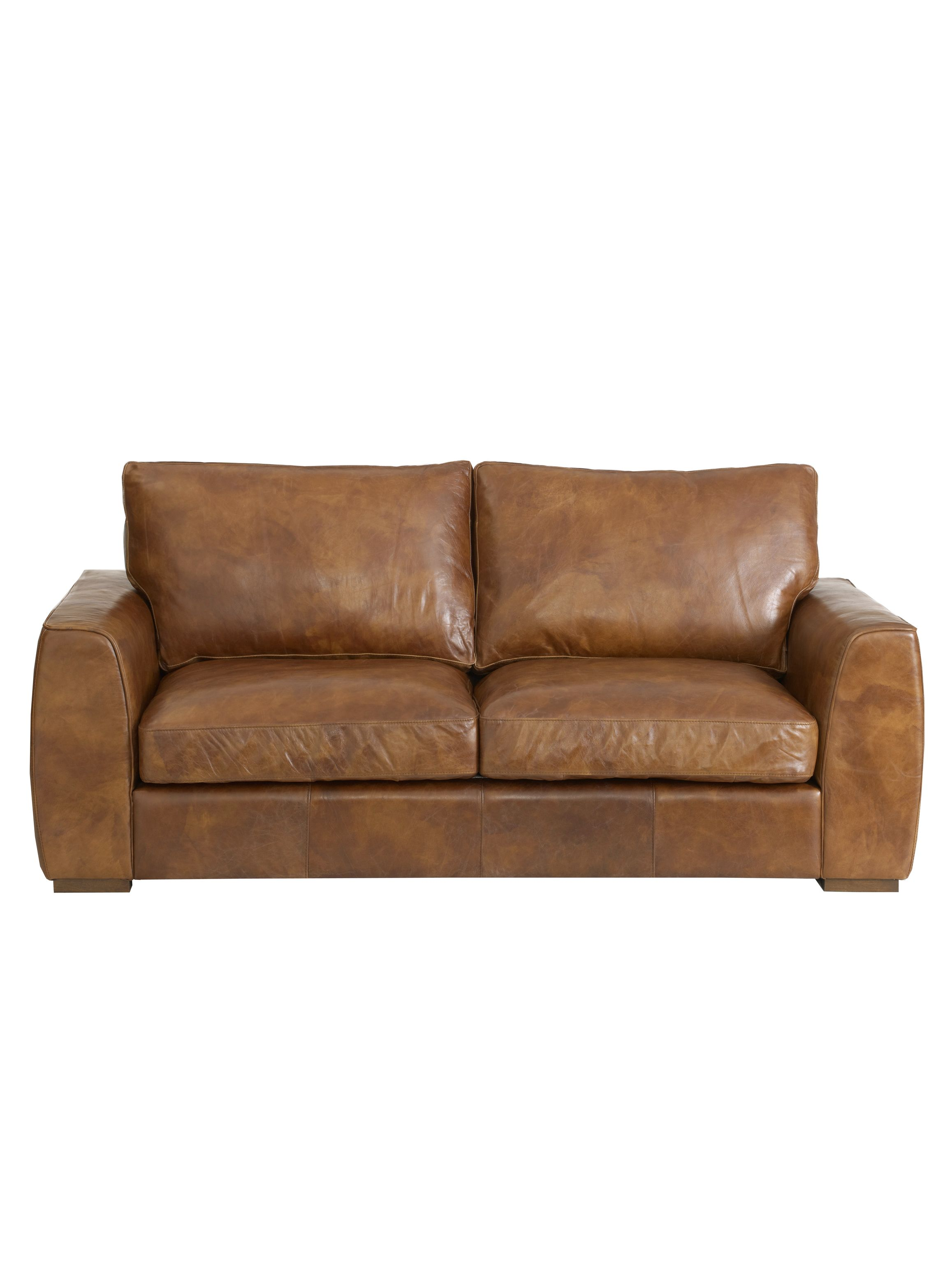 Colorado Nut 3 seater large sofa