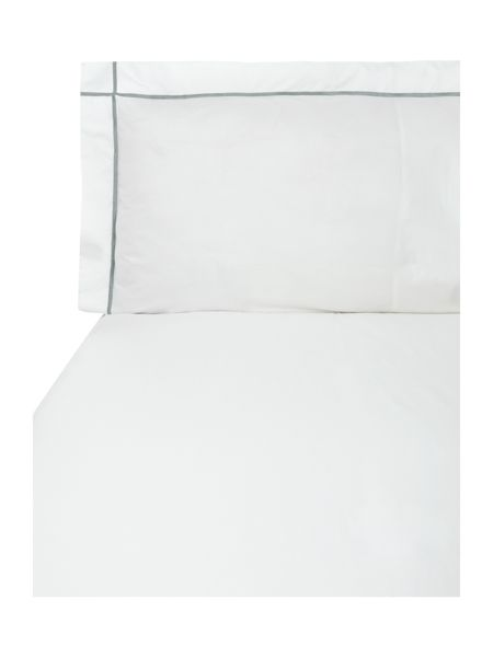 Yves Delorme Athena platine king pillow case