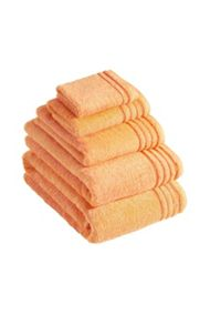 De Luxe towel range in melon