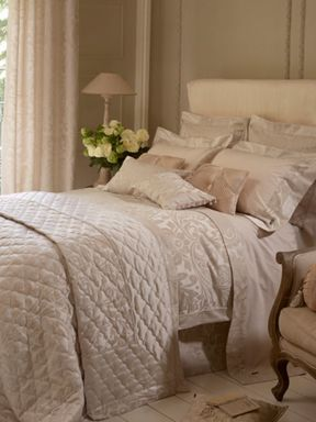 Christy Marianne bed linen range in ivory