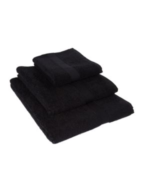 Linea Supima Towel Range in Black