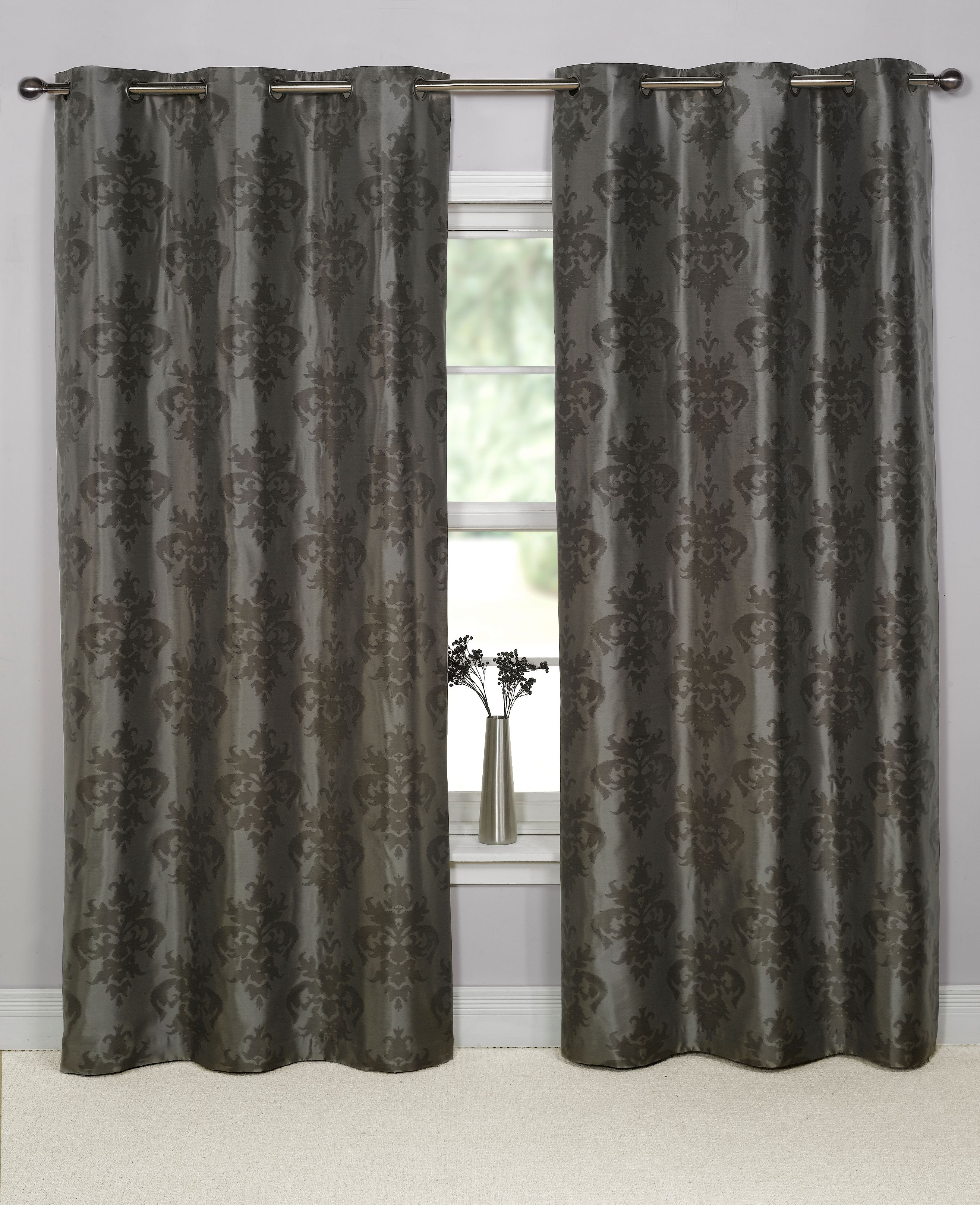Curtains Ideas damask curtain : damask curtains and blinds