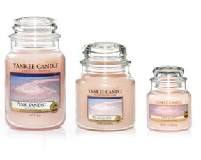 Yankee Candle Pink sands housewarmer candles
