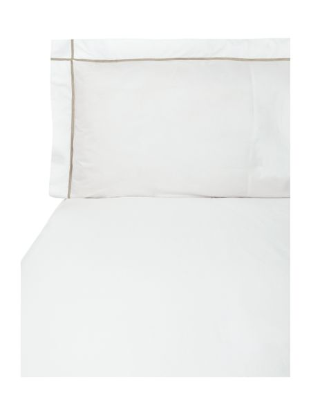 Yves Delorme Athena pierre super king duvet cover