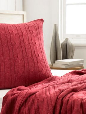 Sheridan hamish bed accessories red