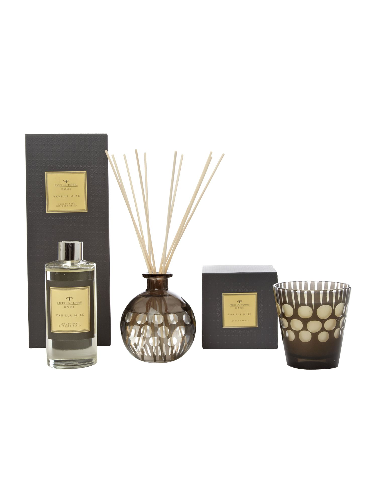 Vanilla musk room fragrance