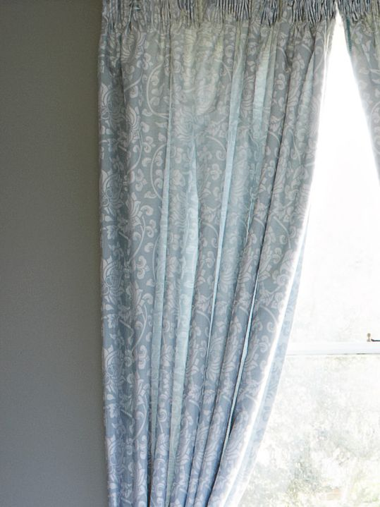 Harmony Curtains 90x90 Teal 157404476
