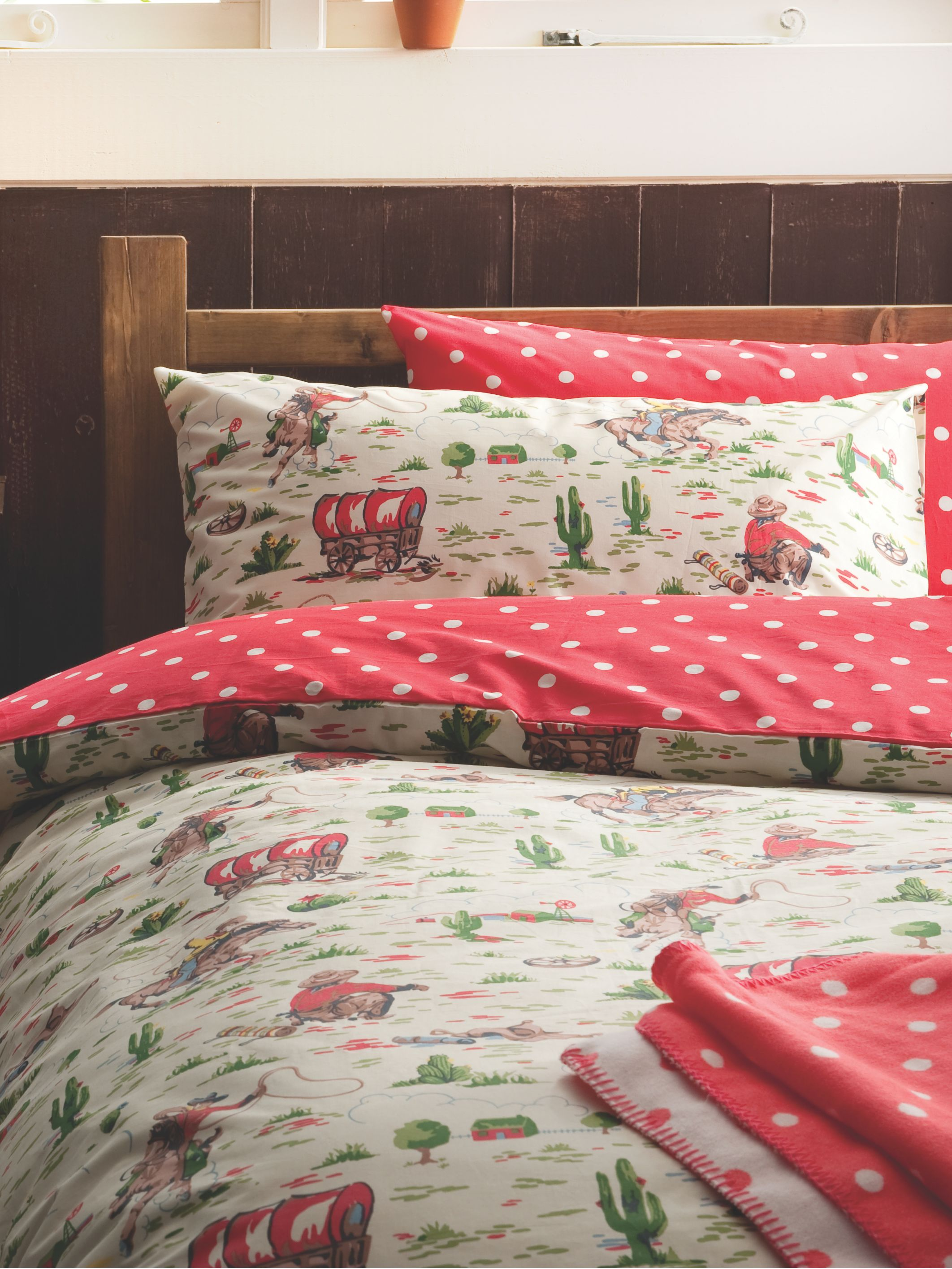 Cath Kidston Cowboy Double Duvet Cover Set Review
