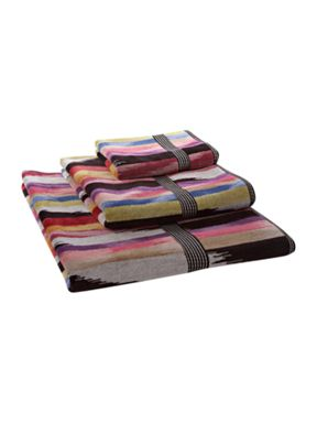 Missoni Home Homer towels in pink