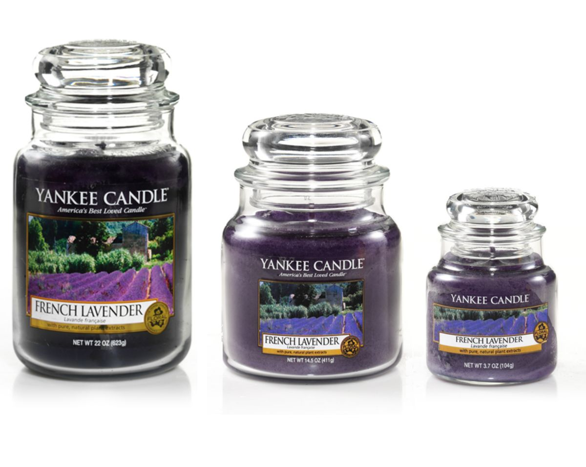 French lavender candles