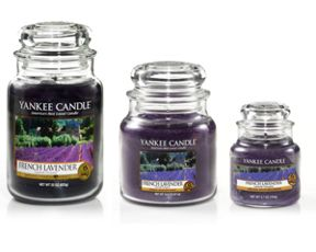 Yankee Candle French lavender candles