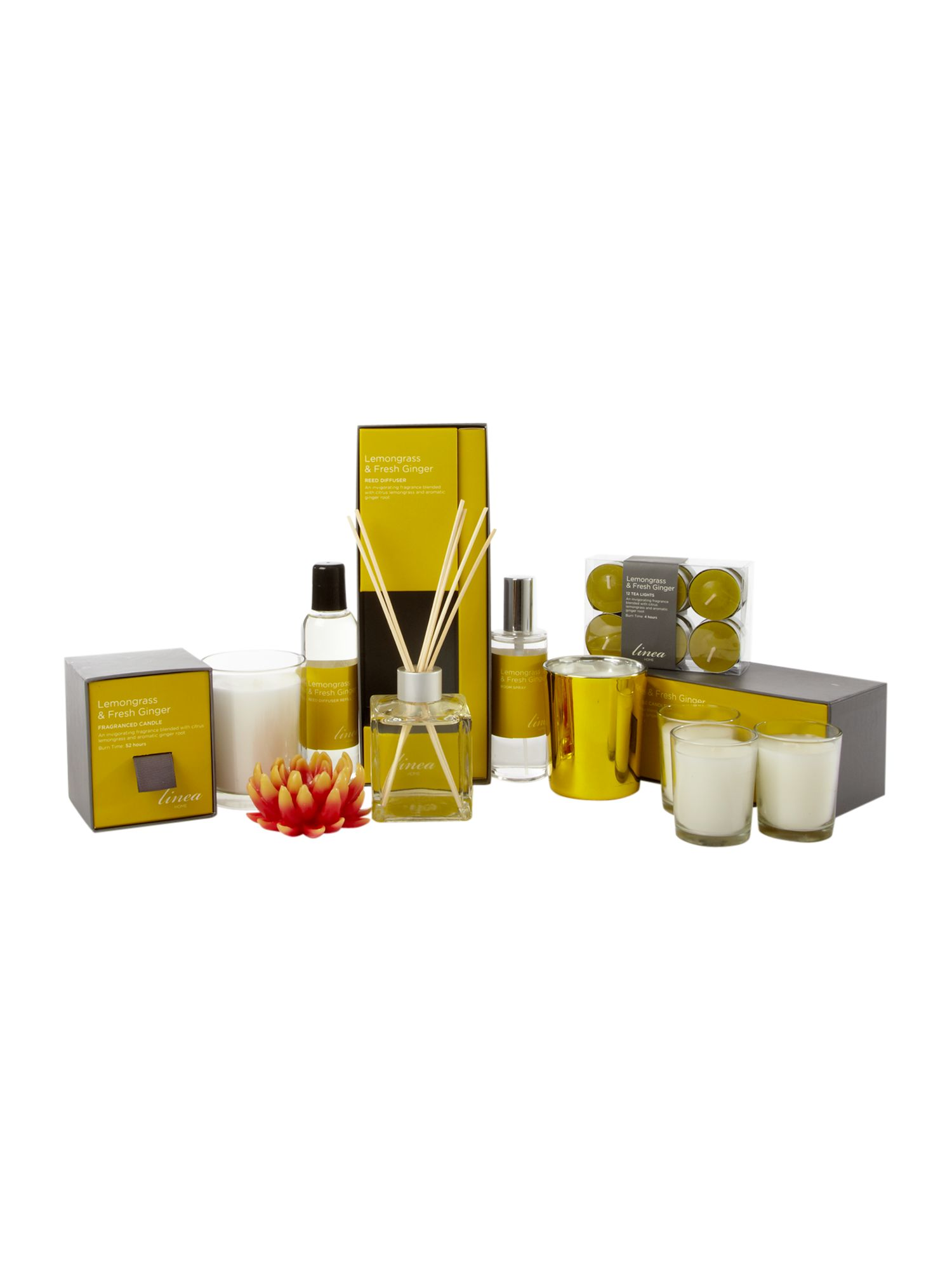 Lemongrass and ginger room fragrance