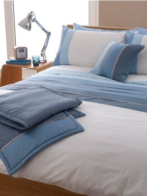 Linea Tri-band bed in a bag in blue