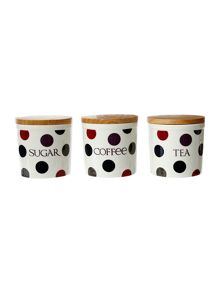 Dotty bloomsbury canisters