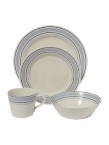 Ribbon stripe dinnerware