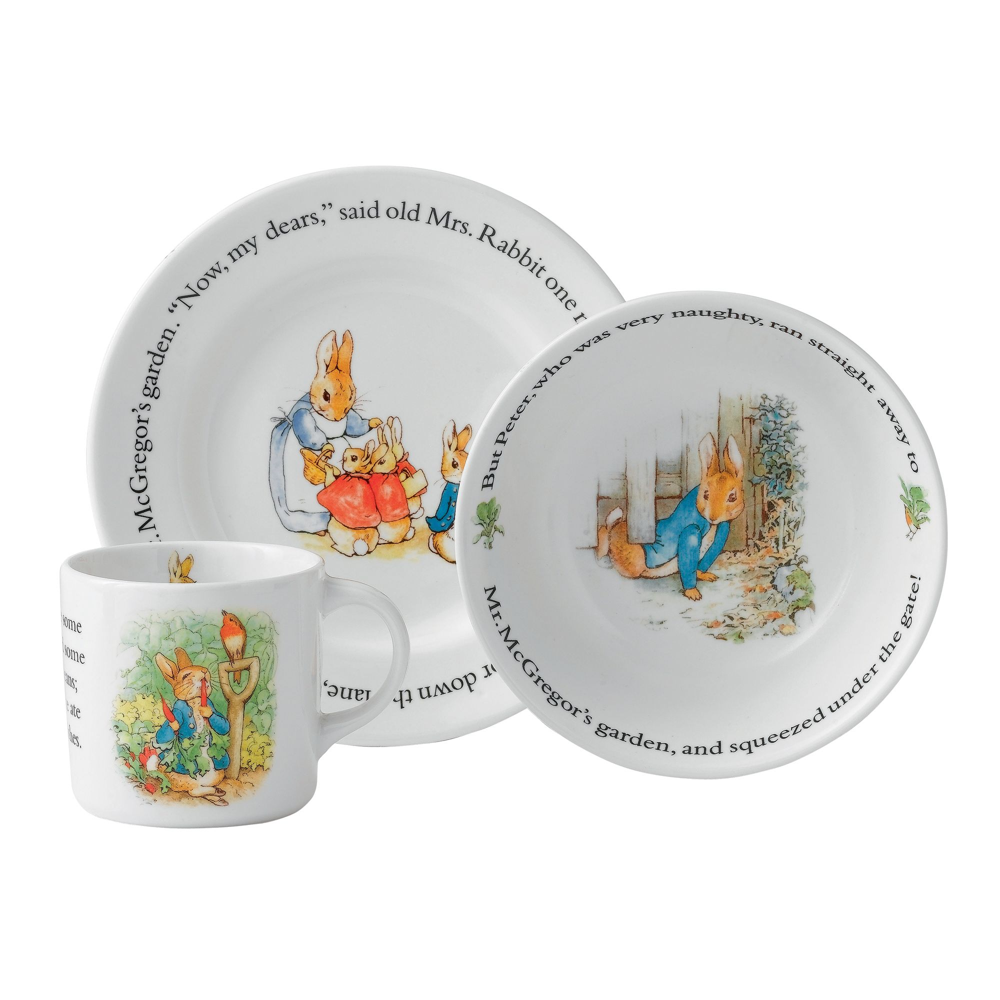 Peter Rabbit Original 3-Piece Set