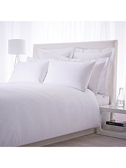 500 TC oxford square pillow case pair white
