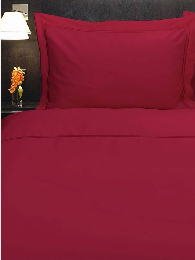 Baretta Stitch double duvet cover lipstick